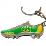 chaveiro chuteira do brasil
